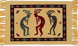 Placemat, Kokopelli