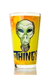 Glass, The Thing Alien Head (17oz)