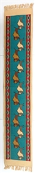 Table Runner, Buffalo Turquoise