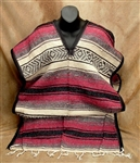 Apparel, Mexican Imported Falsa Poncho