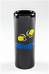 Shot Glass, The Thing Black w/Yellow Eyes (2.5oz)