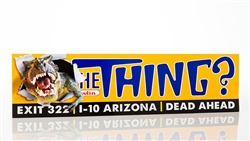 Bumper Sticker, The Thing T-Rex